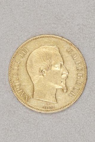 100 francs or tête nue