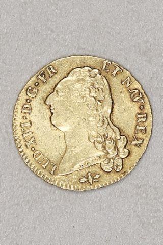 Double Louis d'or au buste nu
