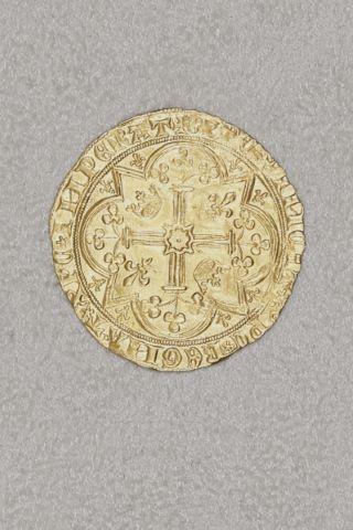 Franc d'or à pied