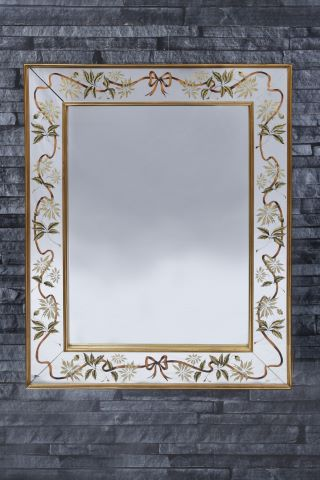 Miroir rectangulaire à parclose