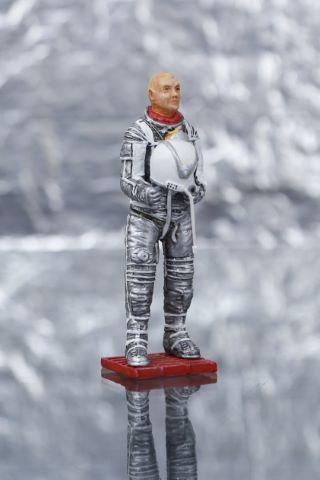 Maquette au 1/12e de l'astronaute John Glenn