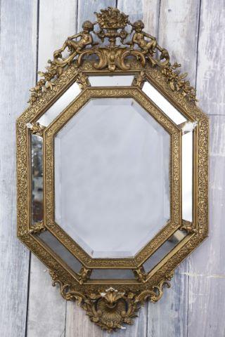 Miroir octogonal à parecloses