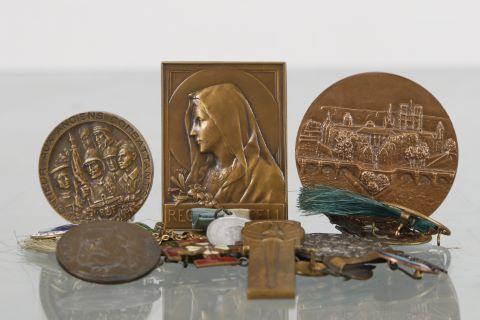 5 médailles