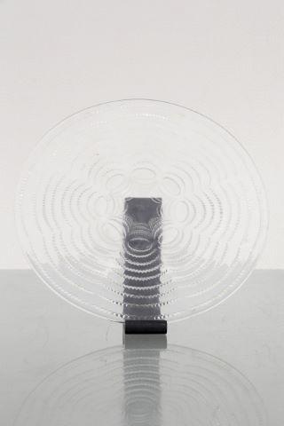 Grand plat circulaire
