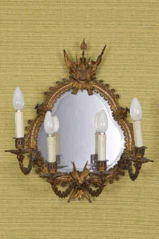 Applique miroir néogothique