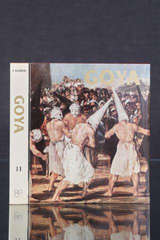 Goya, biographie, étude analytique et catalogue de ses peintures, 2 tomes