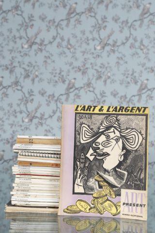 Environ 30 numéros de revues sur les arts décoratifs et l'architecture