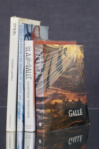 4 livres d'art sur Émile Gallé