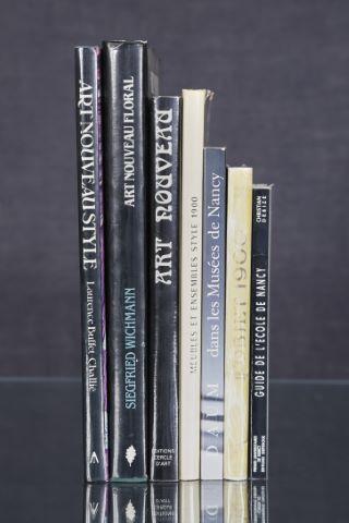 7 livres d'art sur l'Art Nouveau