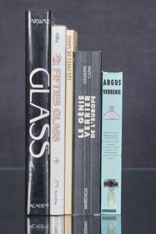 5 livres d'art sur le thème du verre (I)