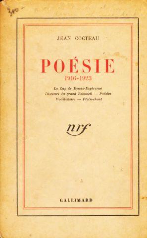Poésie 1916-1923