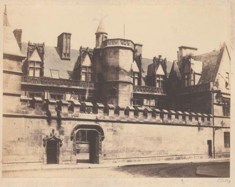 L'Hôtel de Cluny à Paris