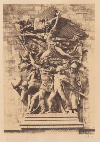 La Marseillaise de François Rude sur l'Arc de Triomphe à Paris