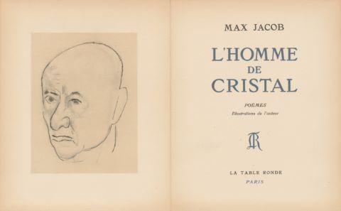L'Homme de cristal et 1 lettre autographe