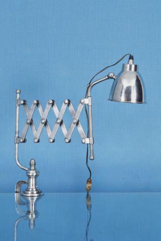Lampe d'atelier dite ciseaux