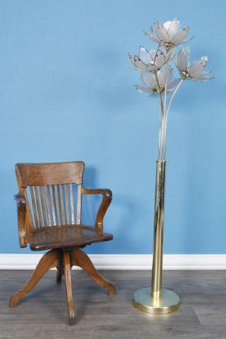 Lampadaire + fauteuil pivotant
