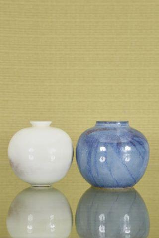 2 vases boule