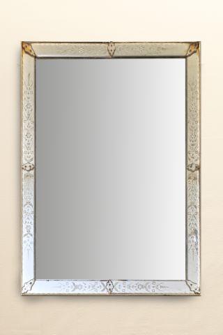 Grand miroir de bar