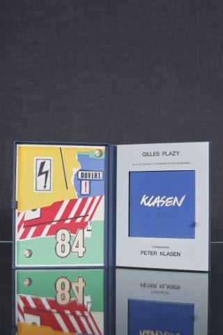 """Coffret complet """"Klasen devant le miroir des notre monde"""", textes de Gilles Plazy"""