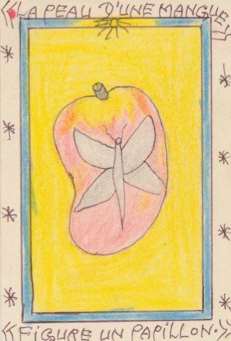 La peau  d'une mangue/ une sublime beauté