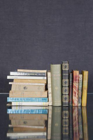 17 livres des XIXe et XXe siècles