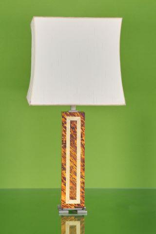 Deux grandes lampes de table