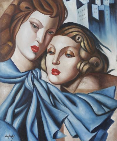 Couple de femmes