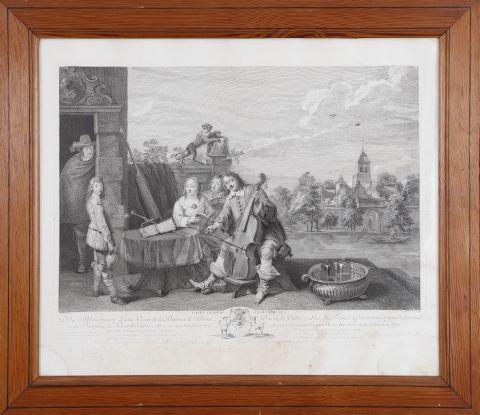David Teniers et sa famille