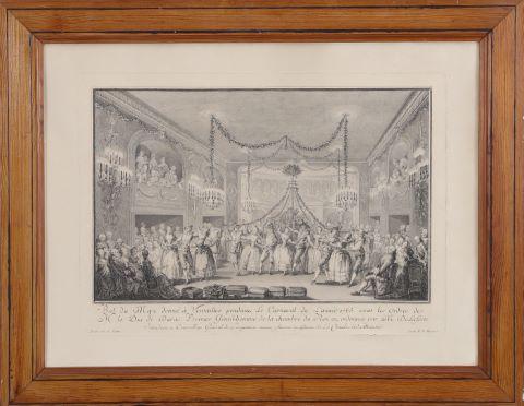 Bal du May donné à Versailles
