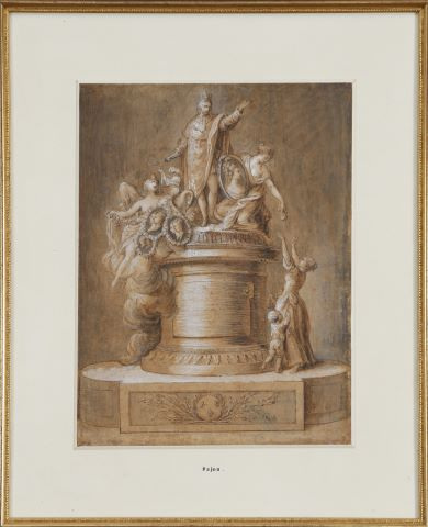 Projet de monument à Louis XVI et sa famille