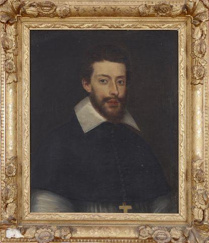 Portrait d'homme d'église