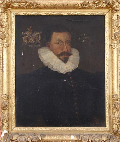 Portrait d'Henri Claude à l'âge de 48 ans