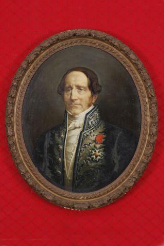 Portrait d'homme à la légion d'honneur