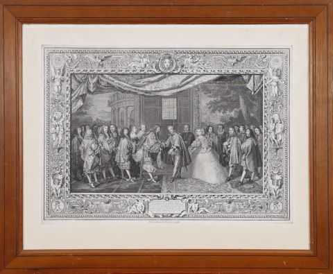 Scènes de la vie de Louis XIV [4 œuvres]