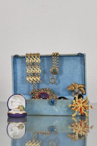 Ensemble de bijoux fantaisie esprit baroque