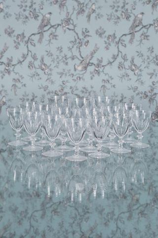 Partie de service de verres [39 pièces]