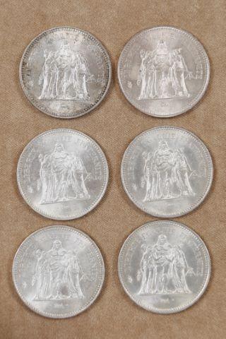 12 pièces de 50 francs Hercule [+2]