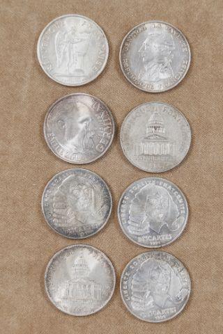 20 pièces de 100 francs Ve République
