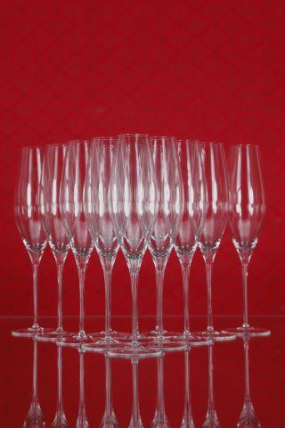23 flûtes à champagne, collection Fuga-lisse