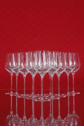 16 verres à vin rouge de Bordeaux, collection Fuga-lisse