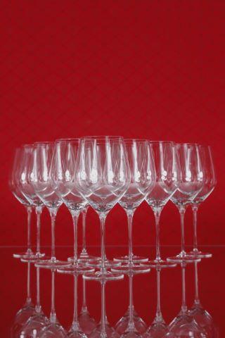 13 verres à vin rouge de Bordeaux Grand Cru, collection Fuga-lisse