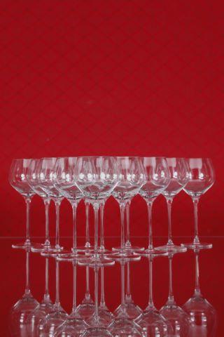 15 verres à vin rouge jeune (Beaujolais, Valpolicella, Rosé, Vernatsch), collection Fuga-lisse