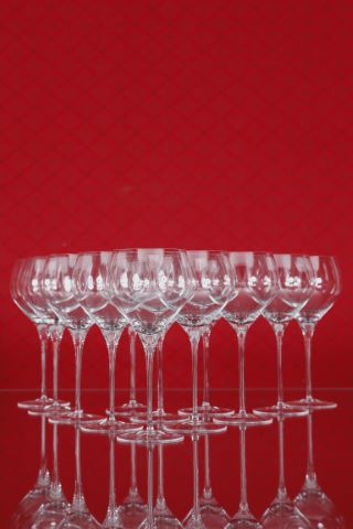 12 verres à vin rouge barique, collection Fuga-lisse