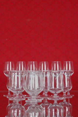 8 verres à Whisky Single Malt et 6 verres à eau-de-vie de fruits, collection Fuga-lisse
