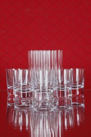7 verres Old-Fashioned et 6 verres à Schnaps, collection Vero