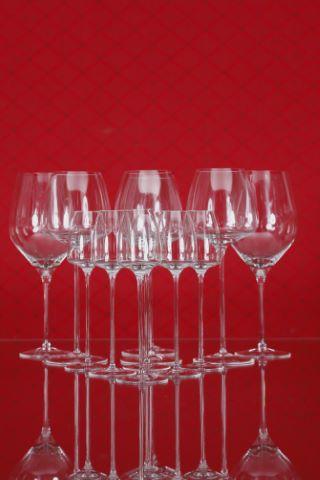 6 verres à Riesling et 6 verres à Grappa, collection Tac 02