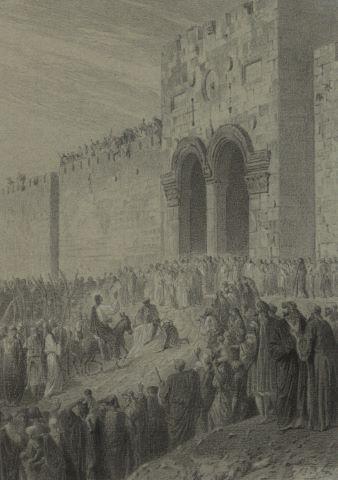 L'Entrée triomphale du Christ à Jerusalem