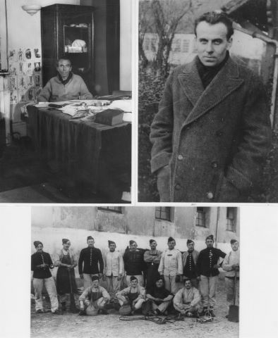 7 tirages photographiques anciens de Louis-Ferdinand Destouches dit Louis-Ferdinand Céline