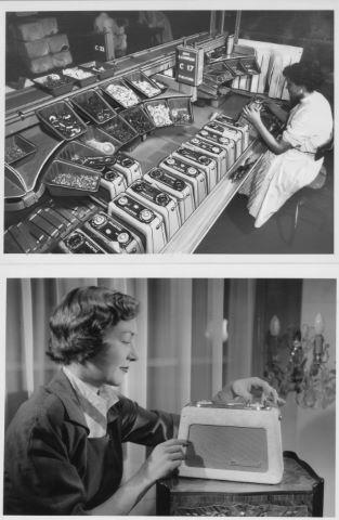 34 photographies sur la naissance de la radio