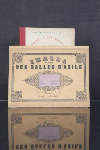 2 livres illustrés du XIXe siècle